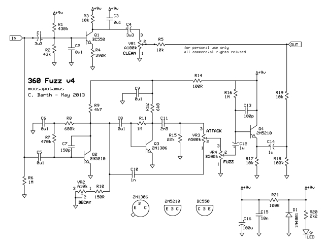 moosapotamus 360 bass fuzz schematic
