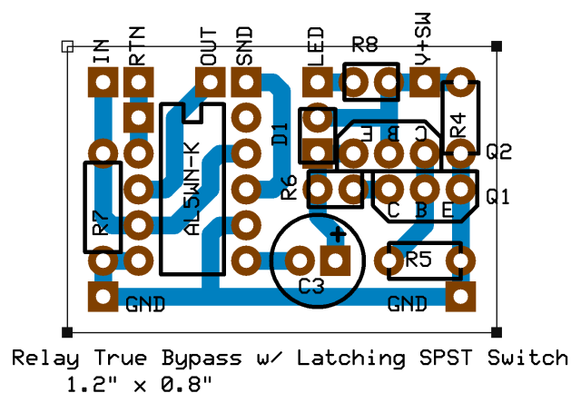Freestompboxesorg View Topic A Switching Scheme - Dpdt Relay True Bypass